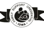 family support iowa credential logo